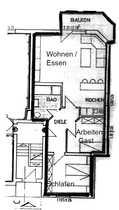 Wohnung Petersberg