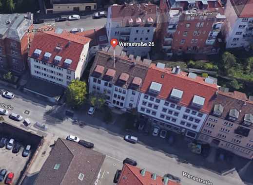 3-Zimmer-Dachgeschosswohnung mit Kesselblick und EBK in Stuttgart Mitte