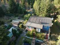 Gemütliches Wochenendhaus mit Gästeblockhaus und