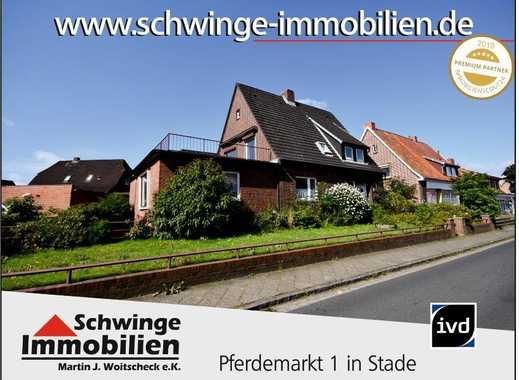 SCHWINGE IMMOBILIEN Stade: 1 bis 2 Familienhaus in der Hansestadt Stade / Kopenkamp.
