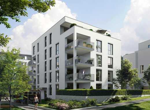 Stilvolle 4-Zimmer-Wohnung mit sonniger Dachterrasse und offenem Wohnbereich