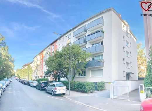Nahe neuer ECB! | ERSTBEZUG NACH SANIERUNG | 1-Zimmer-Luxus-Wohnung in Toplage!