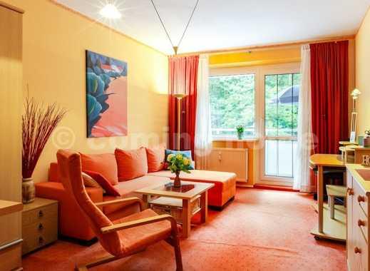 Wohnen, wo andere Urlaub machen: Ruhiges Apartment mit Balkon & Grünblick direkt am Naturschutzge...