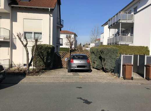 Ein Außenstellplatz in Walldorf (Cezannestrasse nahe Bahnhof Walldorf)zu vermieten