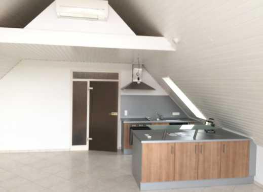 Zwei-Zimmer-Dachgeschosswohnung im Frankfurter Norden
