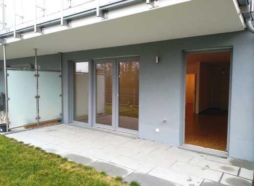 Barrierearme Wohnung mit Terrasse und Gartenanteil
