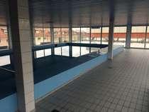 Schwimmbad vor der Sanierung