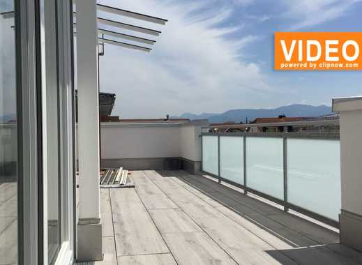 3-Zi.-Dachgeschosswohnung mit Bergpanorama und Dachterrasse *Neubau*