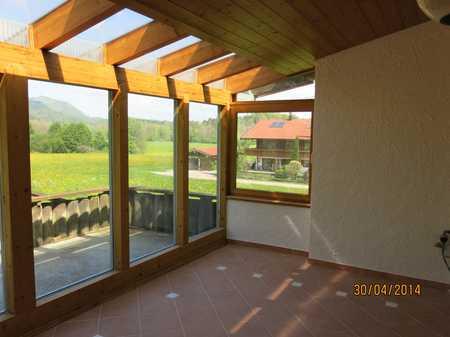 Luxuswohnung im Grünen gelegen, von Bergen umgeben  in Unterwössen
