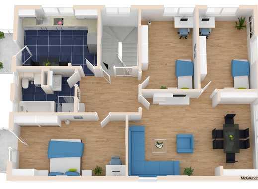 4 Zimmer Wohnung mit Balkonen