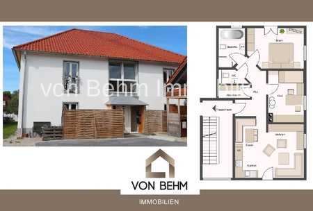 von Behm Immobilien - Traumhafte Wohnung in Lenting mit Garten in Lenting