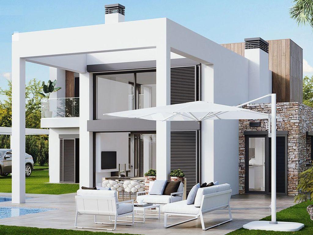 Designer Villen mit 3 Schlafzimmern und Gemeinschaftspool