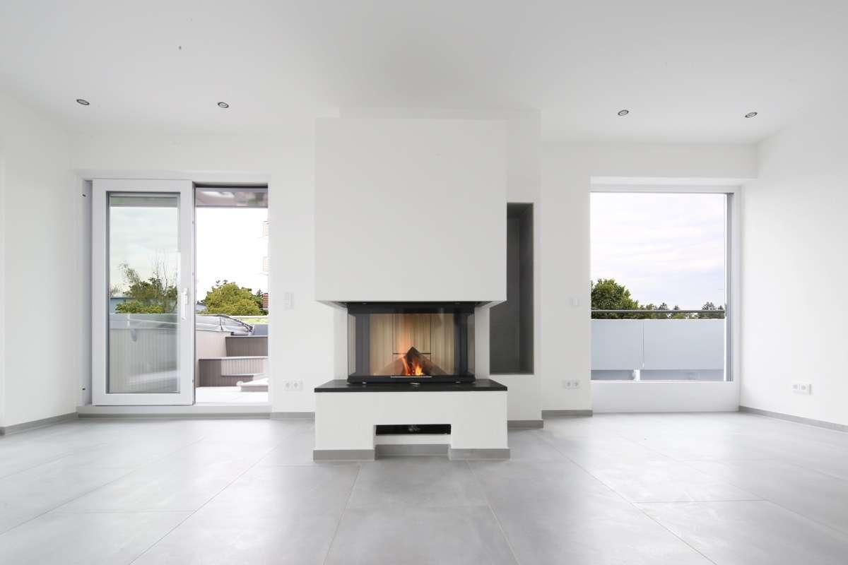 Erstbezug: exklusive 4-Zimmer-Penthouse-Wohnung mit Whirlpool auf der Terrasse in Augsburg in