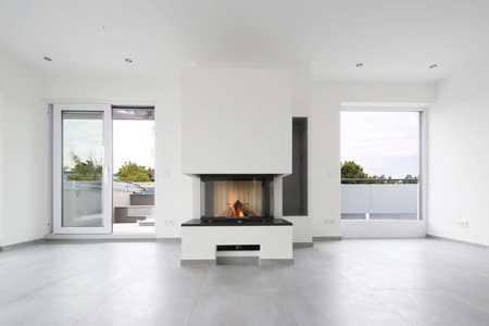 Erstbezug: exklusive 4-Zimmer-Penthouse-Wohnung mit Whirlpool auf der Terrasse in Augsburg in Pfersee (Augsburg)