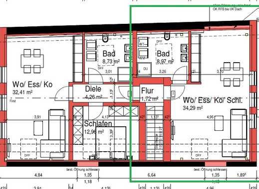 Schöne, geräumige ein Zimmer Wohnung in Eichstätt (Kreis), Schernfeld