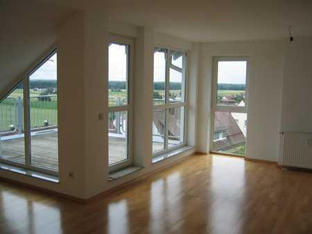 Sonnige 3,5 Zi DG Wohnung in Elchingen