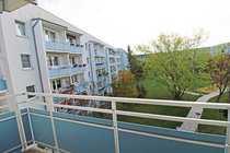 Ein-Raum-Wohnung mit Balkon