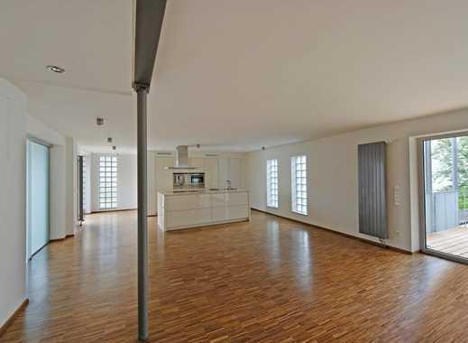 Offene Loftwohnung mit Luxus-Badezimmer und top ausgestatteter EBK im Zentrum von S-Vaihingen