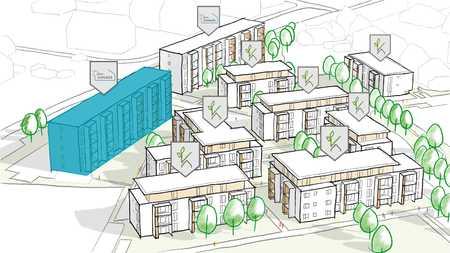 4-Zimmer-Neubau-Mietwohnung für Personen mit WBS Einkommensstufe 1 in Coburg-Zentrum (Coburg)