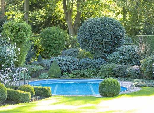 -R-E-S-E-R-V-I-E-R-T- Sehr gepflegte große Unternehmervilla mit Gartenpool in Bestlage