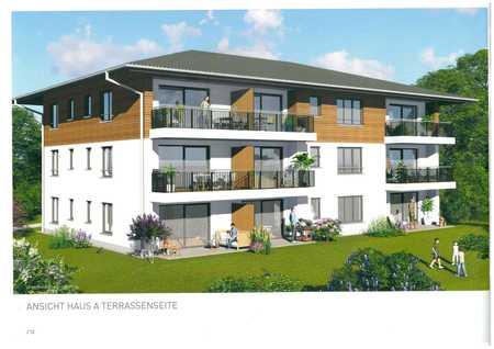 Neubau: wunderschöne 3-Zimmer-EG-Wohnung in Haldenwang in Haldenwang (Oberallgäu)