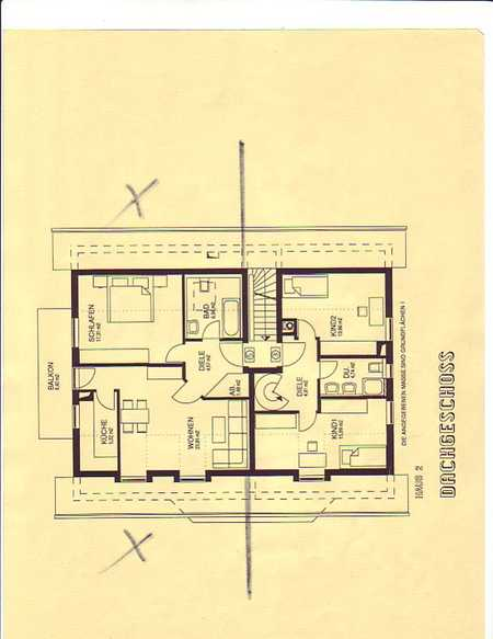 Sehr gepflegte Dachgeschosswohnung in Vaterstetten in Vaterstetten