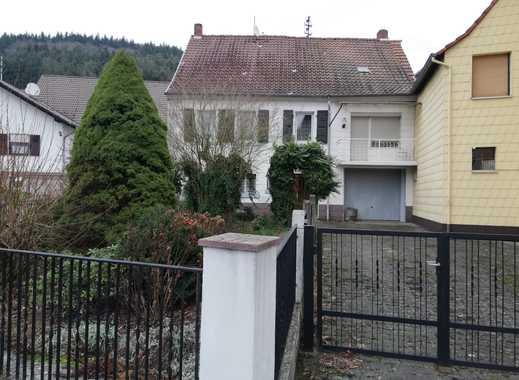 Hier läßt sich viel daraus machen-EFH mit Garten und Garage -VHB!!-