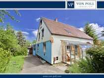 Gemütliche Doppelhaushälfte mit malerischem Grundstück