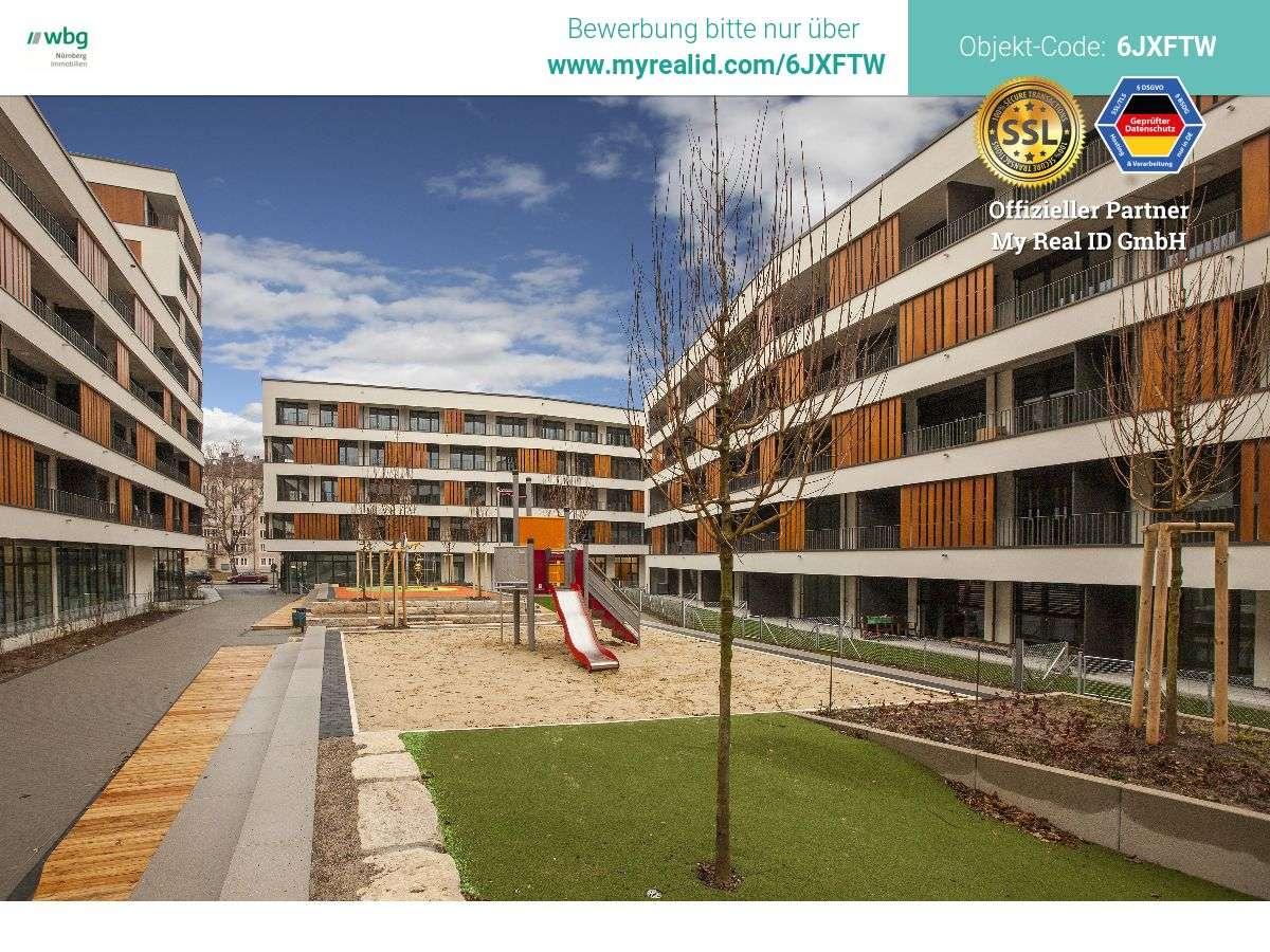 Neubau mit großem Balkon - ideal auch für Studenten! Bezug noch im Februar möglich! in St. Leonhard (Nürnberg)