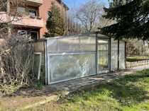 Verkaufe Gartenhaus auf Bauerwartungsland im
