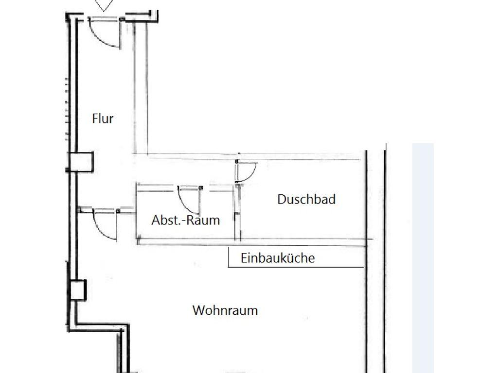 Helle 1 Zimmer Wohnung Bezugsfrei Ab 01 02 2020