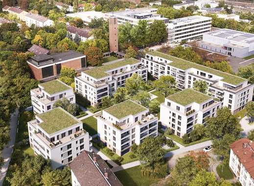 Über den Dächern! Einzigartige 3-Zi. Penthauswohnung am Klostergarten mit Aufzug und Tiefgarage