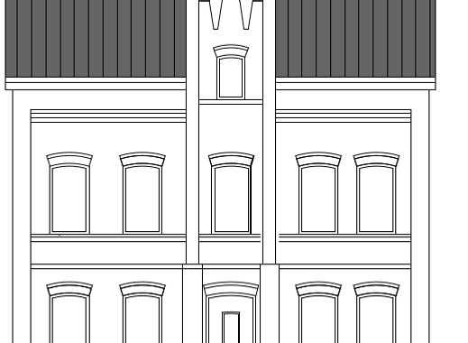 """Büro """"Zur Post"""" in historischem Gebäude"""