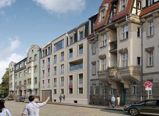 +++VERKAUFSSTART+++ Helle 3-Zimmerwohnung mit grünem Innenhof in der Dresdner Neustadt!
