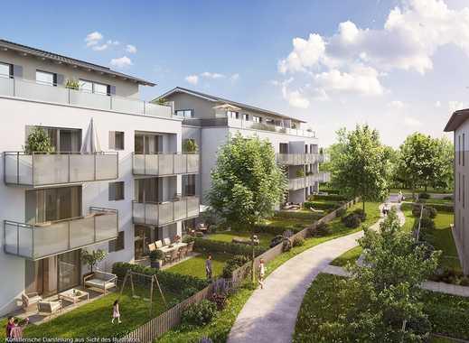 4-Zimmer-Balkonwohnung in Südausrichtung mit großem Wohn-Ess-Koch-Bereich