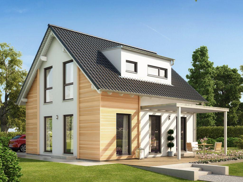 SOLUTION 106 V3 – Modernes Zuhause mit Pultdachgaube und ...