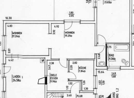 Großzügige 3,5- Zimmer EG-Wohnung an der Verdener Landstraße