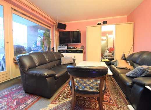 1-Zimmer Wohnung mit Balkon im grünen Poppenbüttel