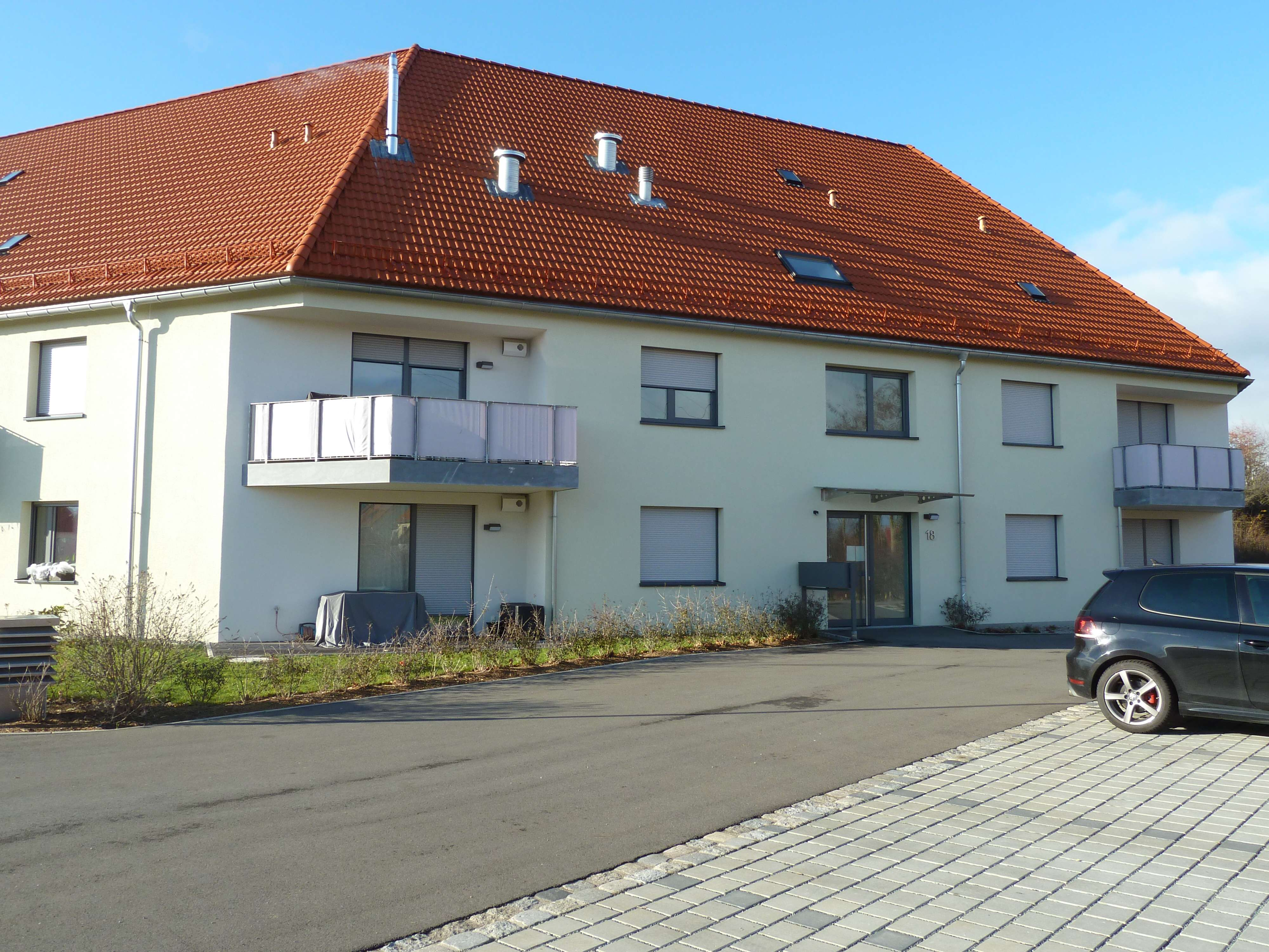 2-Zimmer-Terrassenwohnung in Baiersdorf in Baiersdorf
