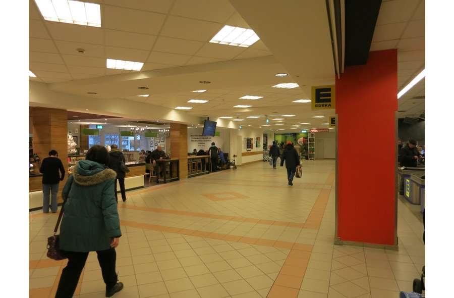 Mall-Bereich