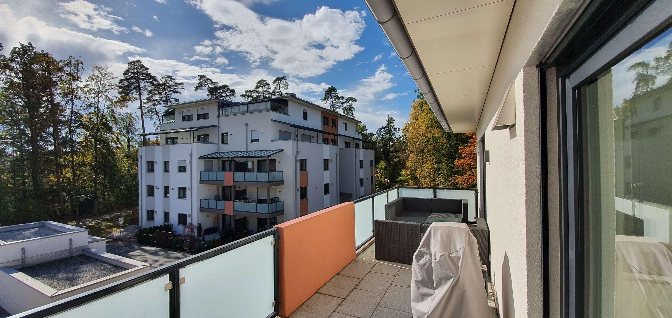 ... modern helle barrierefreie 2-Zi-Whg mit EBK + Südbalkon und Lift in ruhiger Zentrumslage ... in Waldkraiburg
