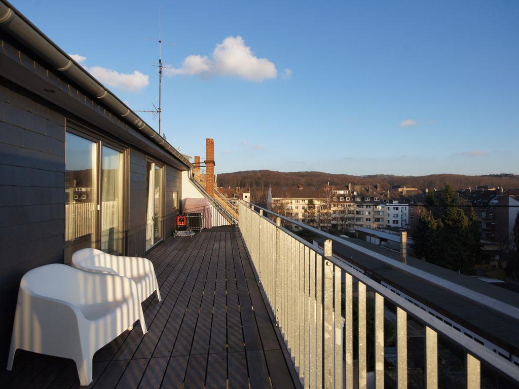 Die große Süd-Terrasse