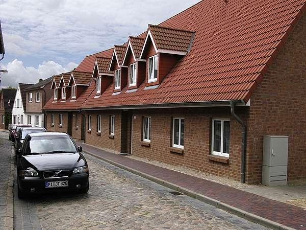 moderne gepflegte 3-Zimmer Wohnung in Meldorf mit Balkon