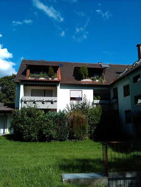 Gepflegte 1-Raum-Wohnung mit Loggia in Augsburg-Göggingen in Göggingen