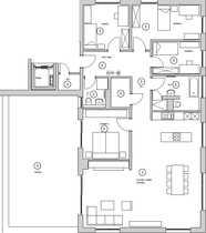 Bild Mit über 170m² auf einer Etage wohnen / 5-6 Zimmerwhg.