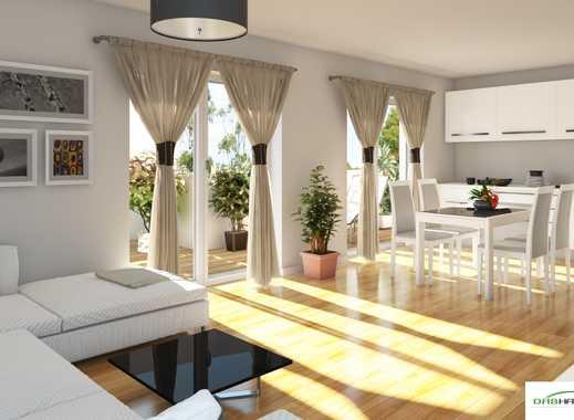 Neubau-PENTHOUSE mit 2-Zimmern, Vollausstattung, Balkon und Dachterrasse