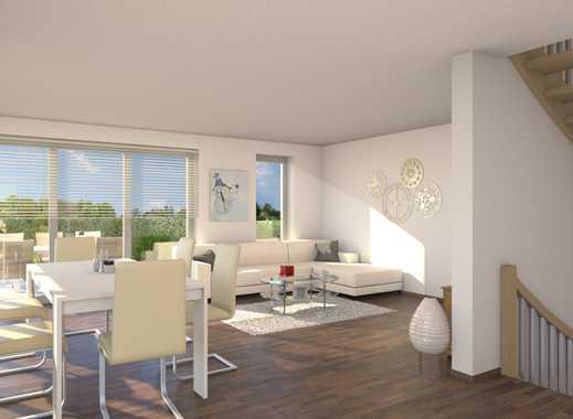 E & Co. - Hochwertige Doppelhaushälfte mit Garage am Haus
