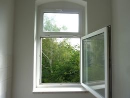 Blick aus Küchenfenster
