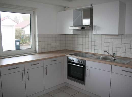 Trippstadt - Helle, ebenerdige 3-Zimmerwohnung mit Terrasse und Garage in ruhiger Waldrandlage