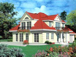 Haus nach Fertigstellung